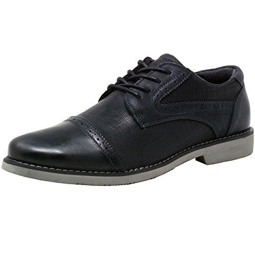 Blk Leather Footwear - 9