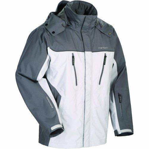 Cortech Brayker Men's Snow Snowmobile Jacket - Silver/Gunmetal / Large (Jacket Snow Amo)