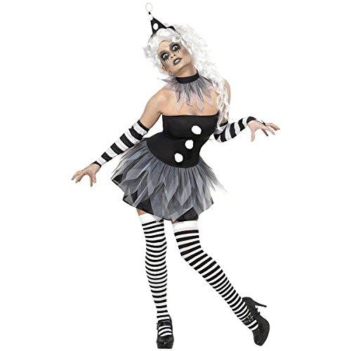 Sinister Pierrot Costumes - Smiffys Sinister Pierrot