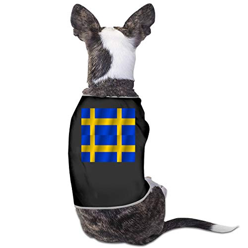LNUO-2 Pet Shirt, Flag of Sweden Dog Cat