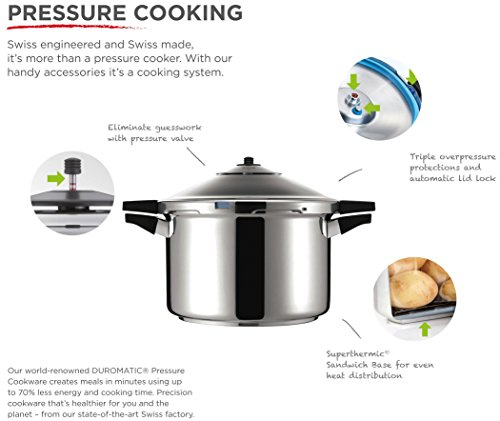 duromatic pressure cooker how to use