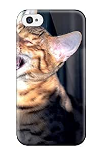 Jim Shaw Graff's Shop Ideal TashaEliseSawyer Case Cover For Iphone 4/4s(cat), Protective Stylish Case 2484257K72788195