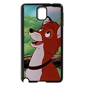 Samsung Galaxy Note 3 Cell Phone Case Black Fox and the Hound 2 WZA Cell Phone Cases