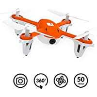 """SKEYE Mini Drone with HD Camera - Aerobatic """"Flip"""" Capability - For Beginners and Experts - Stable & Easy to Fly Quadcopter - One Year Warranty"""