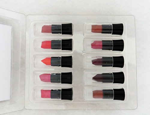 Avon New Ultra Color Lipstick Bullet Sample Pack 1 (10 Assorted Colors)