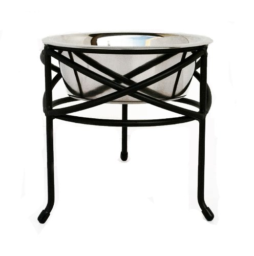 Mesh Single Bowl Elevated Diner - 10'' Tall by NMN Products