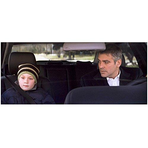 Michael Clayton 8 inch x 10 inch PHOTOGRAPH George Clooney & Boy Knit Cap in Car kn - Clayton Cap