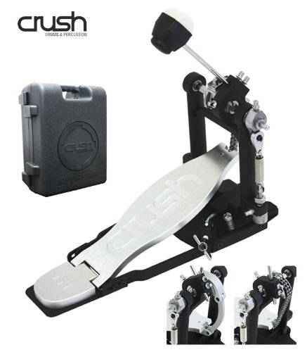 Crush Drums& Percussion ( クラッシュ ) M1BDP/Single Bass Drum Pedal チェーン&ダイレクト切り替え可能!セッティングの自由度が高いキックペダル 専用セミハードケース付 B00E6UGW5W