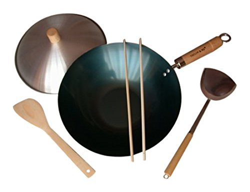 Taylor & Ng Natural Nonstick Woks 12170 Set, 12