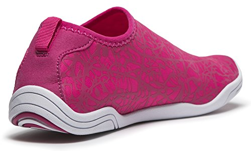 Tesla Männer Frauen & Kinder Slip-On Quick-Dry Minimal Strand Aqua Schuhe A101 / A102 TF-A101-PNK