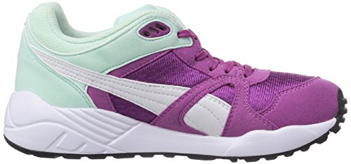 Puma XS 500 Jr - zapatilla deportiva de material sintético infantil Violeta - Violett (vivid viola-white-bay 07)
