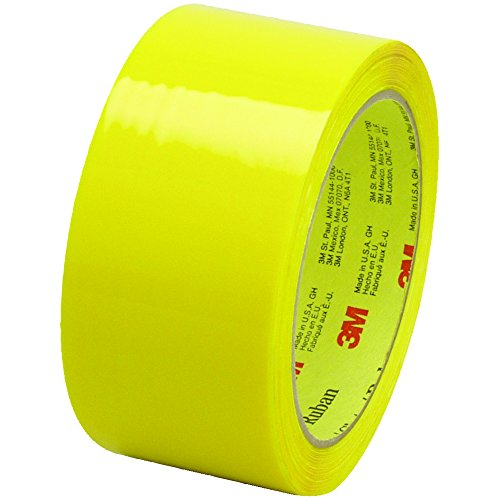 Scotch T901373Y6PK Yellow #373 Carton Sealing Tape, 2