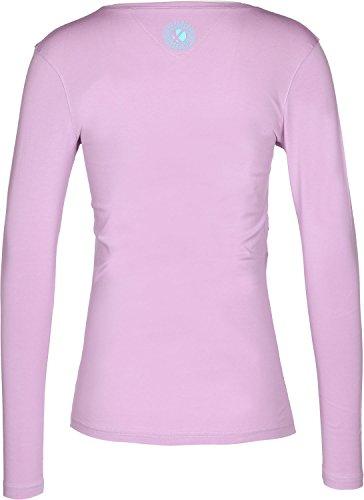 abk Ixelle W Camiseta de manga larga Violeta