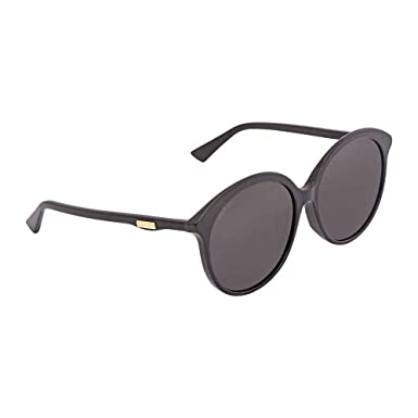 900ad793d6d Image Unavailable. Image not available for. Color  Gucci Grey Round  Sunglasses ...