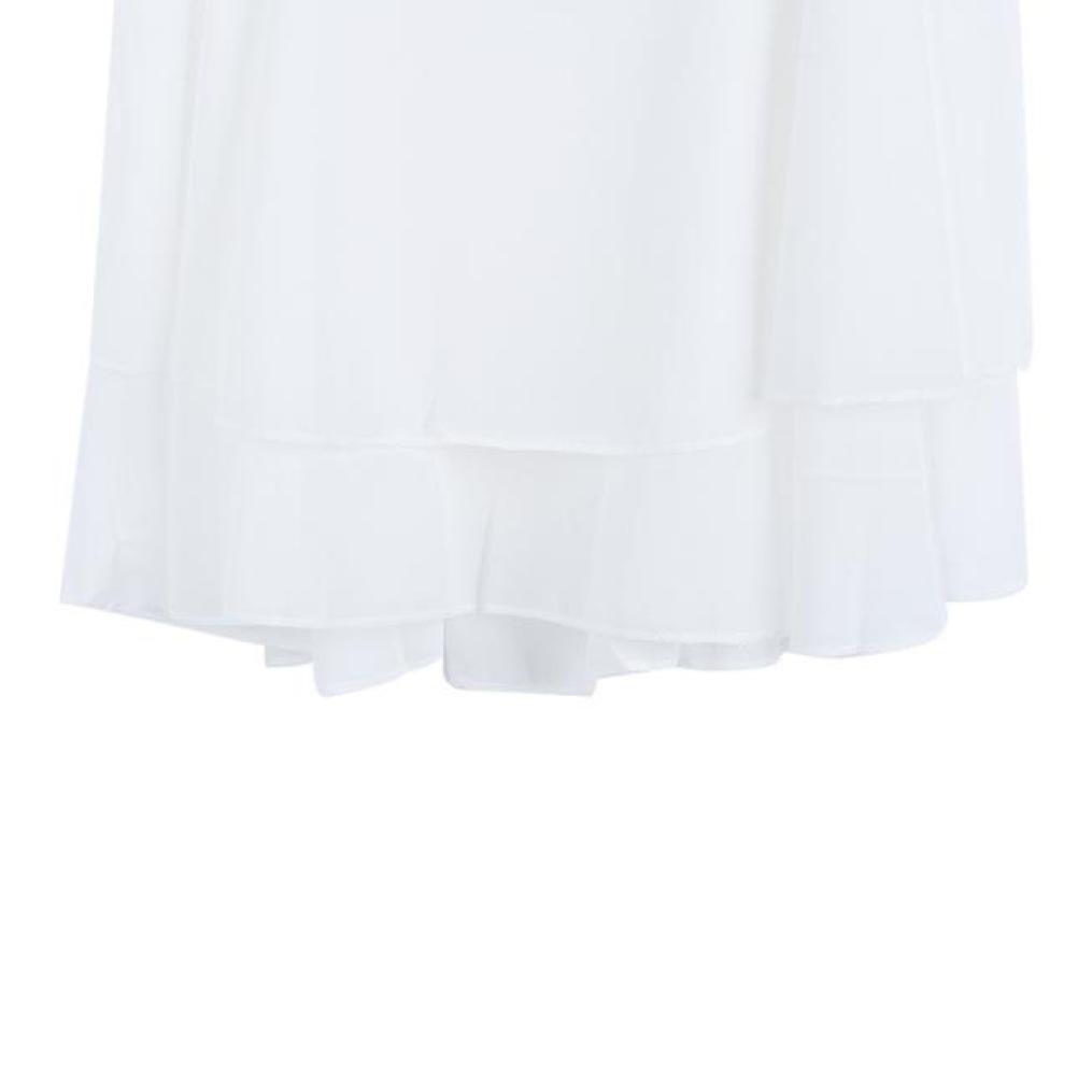 Amlaiworld Tops Mujer Blanco Verano Irregular de la Correa Floral Camisa de Gasa de la impresi/ón de la Camiseta del Chaleco