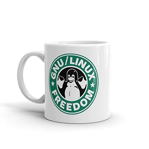 Linux Freedom Starbucks style mug- Coffee Mug, Tea Mug, Cute Mug - Gift, cute gift, Souvenir, 11oz, 15oz