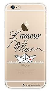 El carcasa francés Crystal Amor carcasa en el mar para Apple iPhone 6 Plus