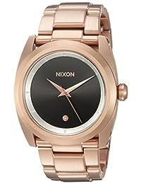 Nixon Women's The Queenpin X Top Shelf Collection Rose Gold/Black Sunray