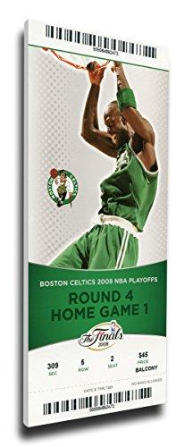 Ticket Wall (That's My Ticket 2008 NBA Finals Mega Ticket Wall Decor, Game 1, Garnett, Boston Celtics)