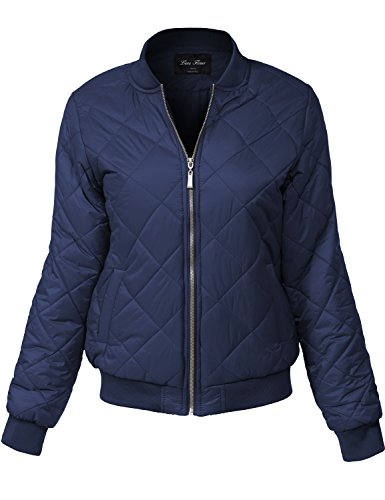 Quilted Knit Bomber Jacket - 9