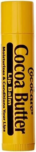 Cocoa Butter Lip Balm, .15 oz, 6 Pack