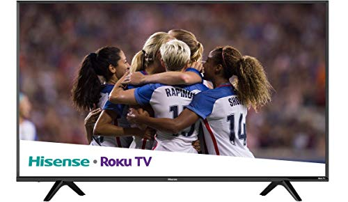 "Hisense 2018 Model Roku TV 60"" Class R6E (59.5"" diag.) 60R6E 4K UHD Roku TV with HDR (Renewed)"