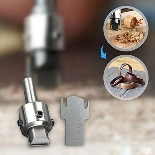 Multifunktions-Holzdickringmacher Hochgeschwindigkeitsstahlbohrholzwerkzeuge Vier Gr/ö/ßen L FWSS Holzringbohrer