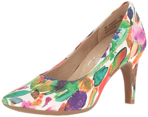 Aerosoles Women's Exquisite Dress Pump, Floral Combo, 7 W US