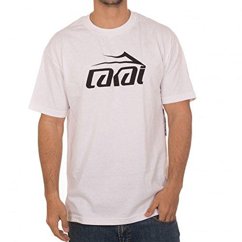 1142fb111d Lakai Independent T-Shirt  Basic SS WH S  Amazon.co.uk  Clothing