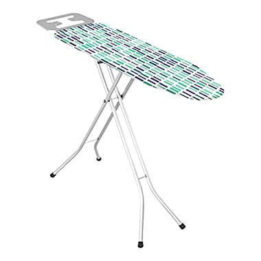 Uniware High Quality Turkey Ironing Board With Iron Rest, Large (Grid, 41 Inch) Colors may vary