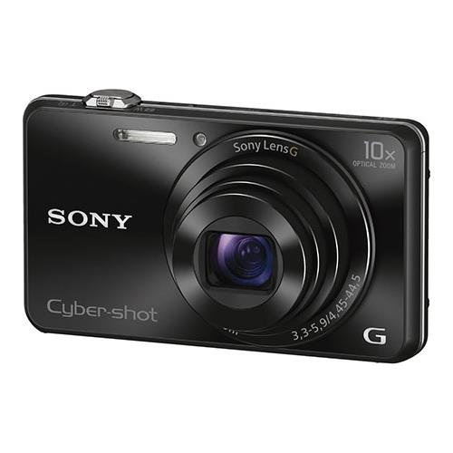 Sony DSCWX220/B 18.2 MP Digital Camera with 2.7-Inch LCD (Black) Black Cyber Shot
