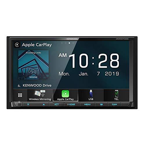"Kenwood DMX9706S 6.95"" Digital Multimedia Receiver with Wireless CarPlay from Kenwood"