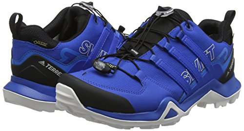 0 Pour Beauty De Homme Terrex Bleu R2 Blue Bright Asphalte Chaussures Course Swift blue Gtx Adidas Sq1w0