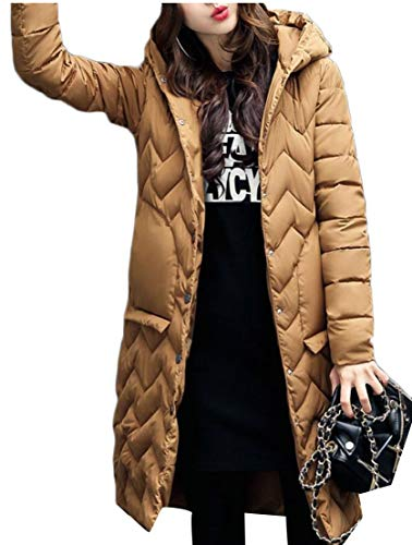 Winter 2 Lightweight Coat Jacket Long Women's Hooded Down EKU Packable Opq5x4wwA