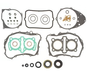 Engine Rebuild Kit - Compatible with Honda CB400 Hawk CM400-1978-1981 - Gasket Set + Seals