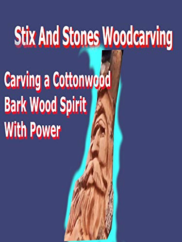 Carving A Cottonwood Bark Wood Spirit With Power