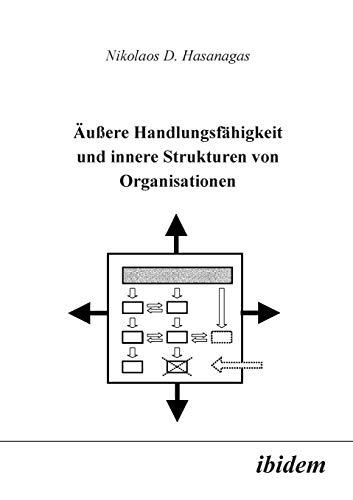 Äussere Handlungsfähigkeit und innere Strukturen von Organisationen.