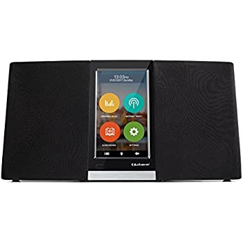 Kelement Wi-Fi Internet Radio With 4.3 Inch Touchscreen Plays Thousands of music from Streaming Music & Internet Radio Station