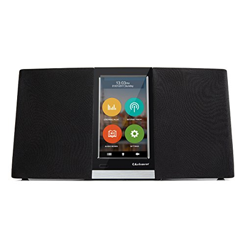 Kelement Wi-Fi Internet Radio With 4.3 Inch Touchscreen Plays Thousands of music from Streaming Music & Internet Radio Station by Kelement