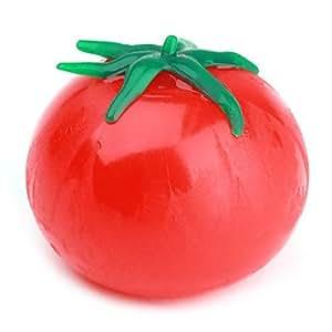 Wohai Gadget Mall - La descompresión de tomate de ventilación juguete (colores aleatorios)