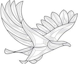 Bevel Cluster Eagle
