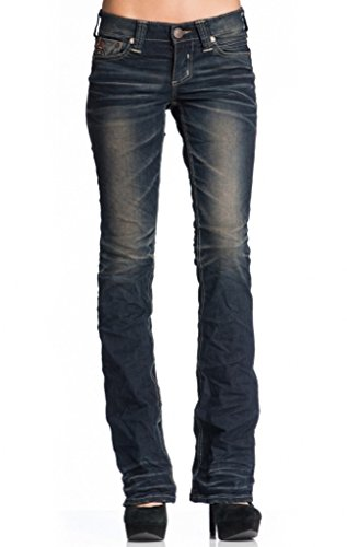 Affliction Jade Rising Clinton Boot Cut Denim 26 Clinton by Affliction