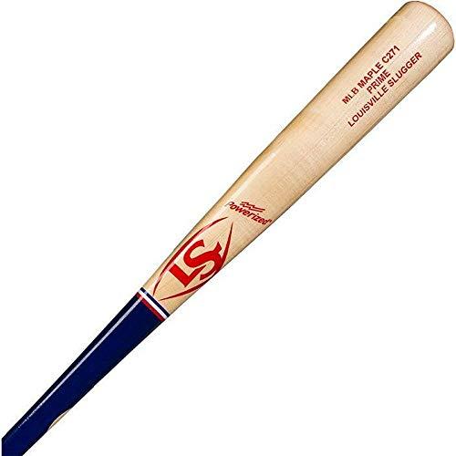 Louisville Slugger C271 MLB Prime Maple America Baseball Bat, Red/White/Blue, 32