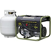Sportsman GEN2000DF, 1400 Running Watts/2000 Starting Watts, Duel Fuel Powered Portable Generator