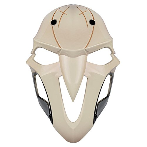 Overwatch Reaper Costume (Gmasking OW Reaper Adult Cosplay Mask 1:1 Costume Prop Replica)