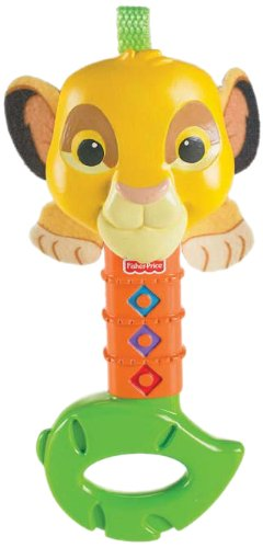Amazon.com : Fisher-Price Disney Baby Lion King Rattle ...