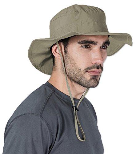 649a61d13d9 Boonie Safari Sun Hat for Men   Women - UPF 50 Sun Protection - Wide Brim  Summer Hat. Waterproof for Fishing