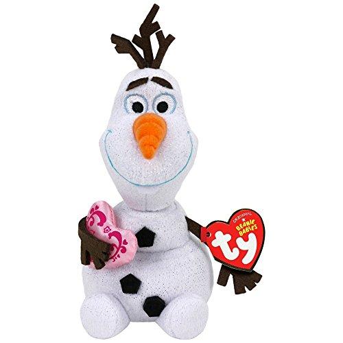 - Ty Disney Frozen Olaf - Snowman with Heart