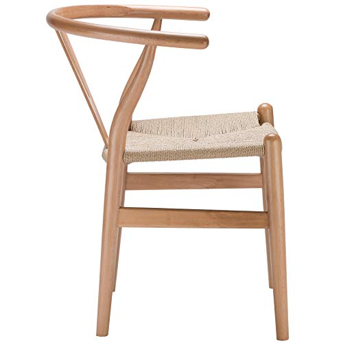 Poly and Bark Weave Chair in Natural (Set of 2) by Poly and Bark (Image #4)