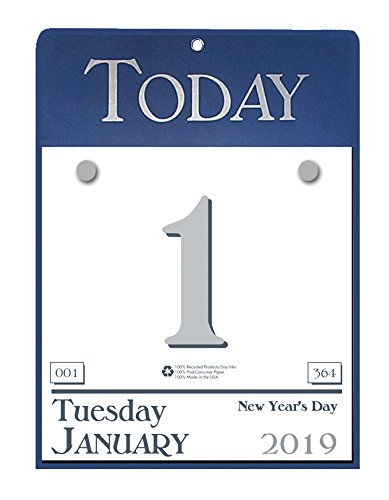 House of Doolittle 2019 Daily Today Calendar, Refillable, 6.5 x 9 Inches, January - December (HOD310-19)